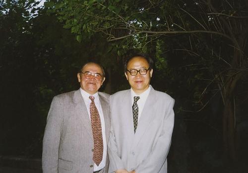 С китайским послом в Казахстане (Алма-Ата, 1999 г.)