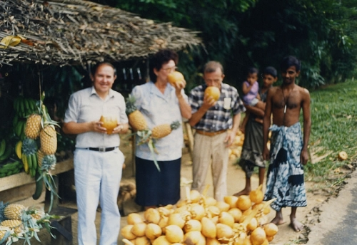 На Мальдивских островах, 1987 г.