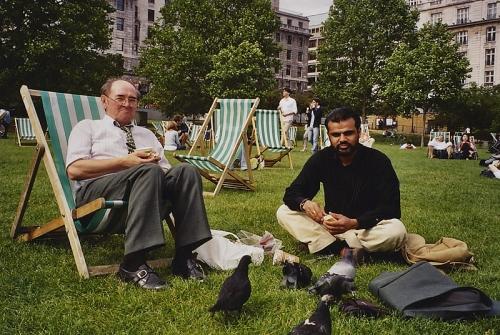 Летний обед в центре Лондона (2005 г.)