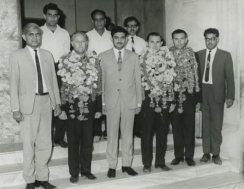 На приеме у текстильного магната (Пакистан, Хайдарабад, 1968 г.)