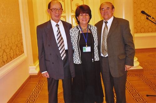 С президентом Академии наук Республики Татарстан Хасановым
