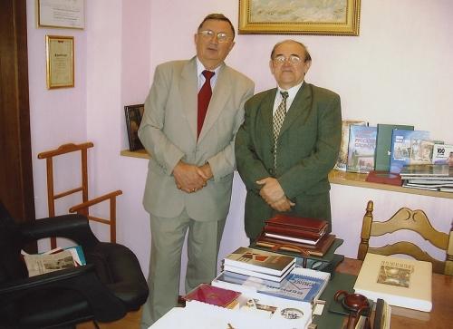 С издателем Исламом