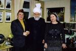 С крупнейшим мусульманским богословом Мисрур Ахмадом (Лондон, 2009 .)