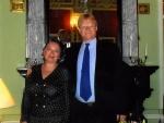 Супруга Наида с норвежским послом в РФ (2008 г.)