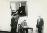 В усадьбе Чичериных (министр иностранных дел СССР 1918-1930 гг.), Тамбовская обл., 1987 г.